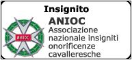 ANIOC – Associazione nazionale insigniti onorificenze cavalleresche